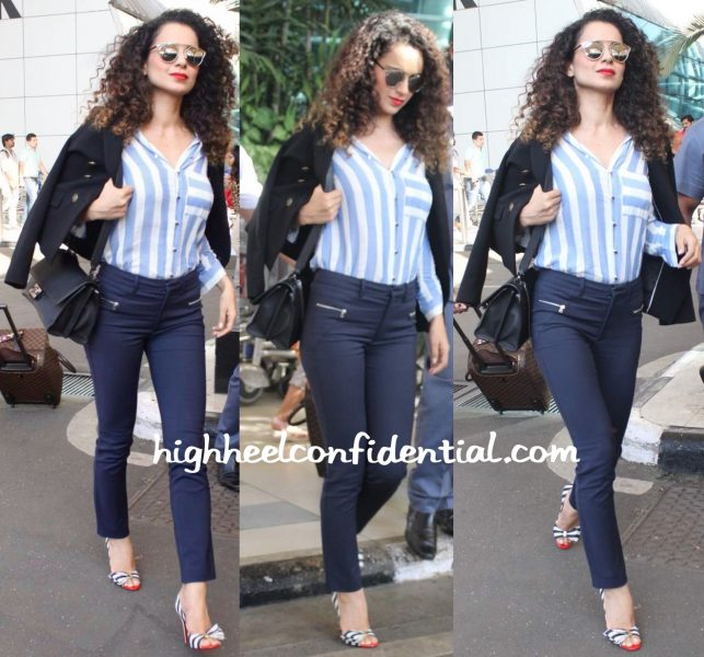 Kangana Ranaut Photographed At The Airport-2