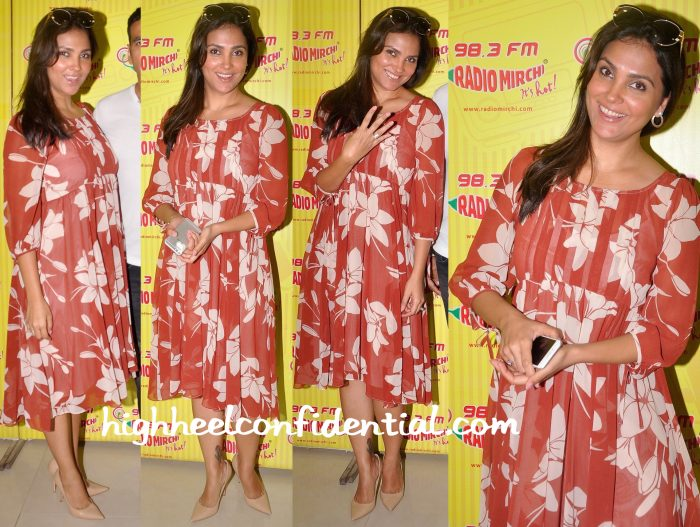 Lara Dutta At Singh Is Bliing Promotions