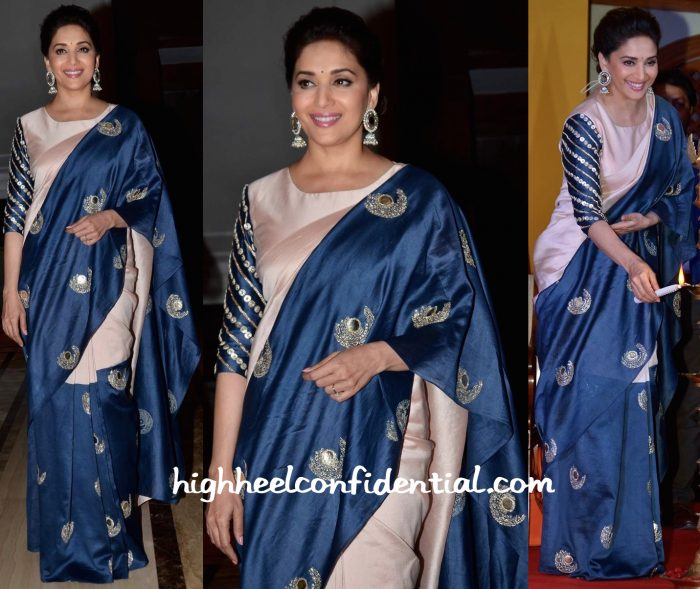 Madhuri Dixit In Payal Singhal At Unicef India Radio4child Awards-1