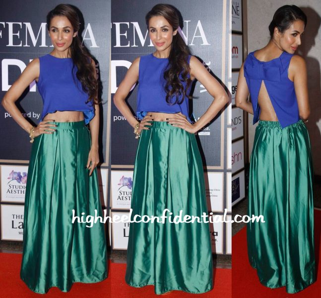 Malaika Arora Khan At Femina Style Diva West Awards 2015-1