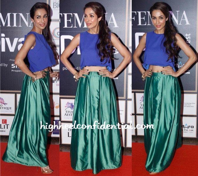 Malaika Arora Khan At Femina Style Diva West Awards 2015-2