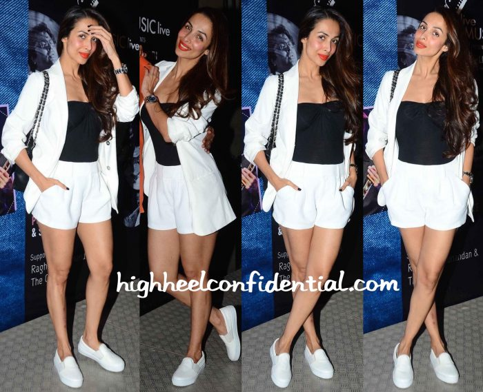 Malaika Arora Khan Photographed At Blue Frog In Mumbai
