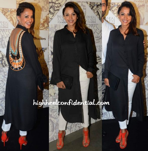 Manasi Scott At Pankaj And Nidhi For Koovs Launch