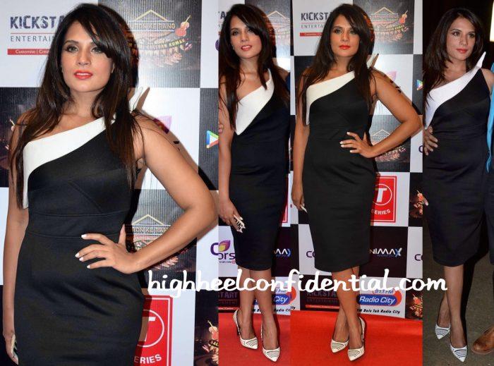 Richa Chadha In Amy Billimoria At Gulshan Kumar Tribute