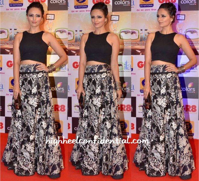 Roshni Chopra In Roshni Chopra Design At Gr8! Women Awards 2015-1