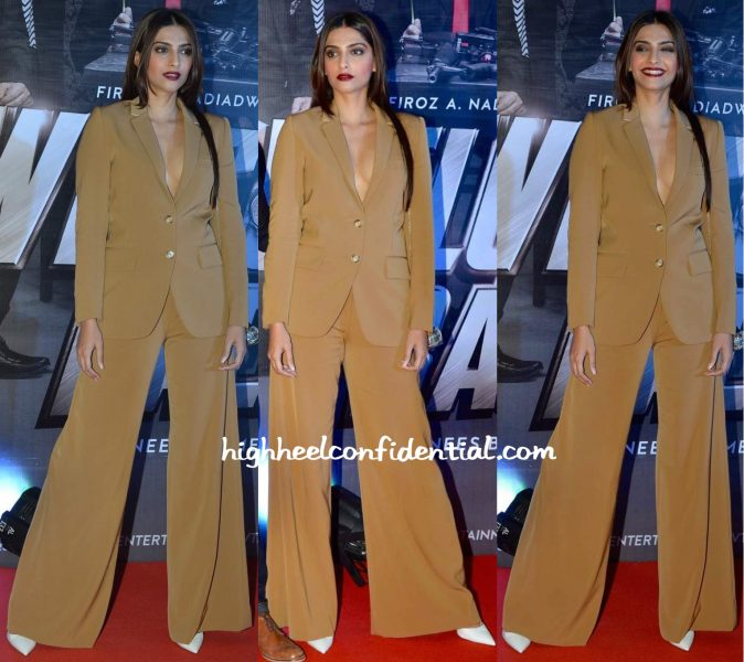 Sonam Kapoor In Stella McCartney, Judith Leiber And Aquazurra At Welcome Back Premiere-1