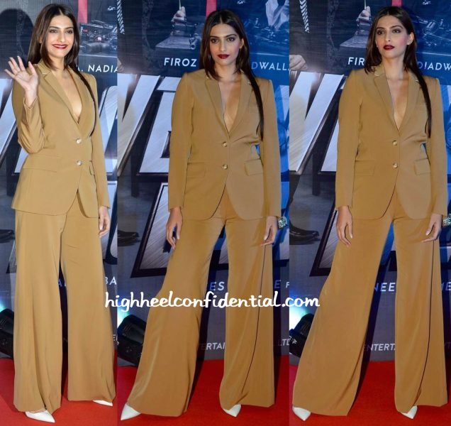 Sonam Kapoor In Stella McCartney, Judith Leiber And Aquazurra At Welcome Back Premiere-2