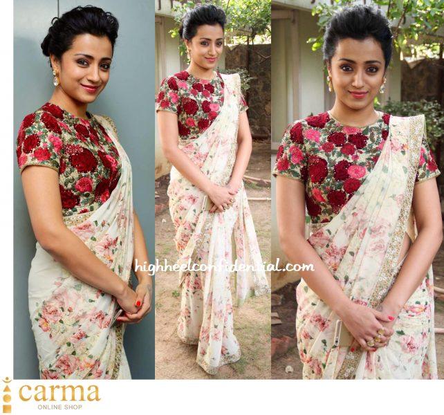Trisha Wears Varun Bahl And Astha Jagwani To Thoonga Vanam Trailer Launch-1