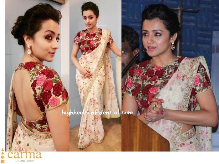 Trisha Wears Varun Bahl And Astha Jagwani To Thoonga Vanam Trailer Launch-2
