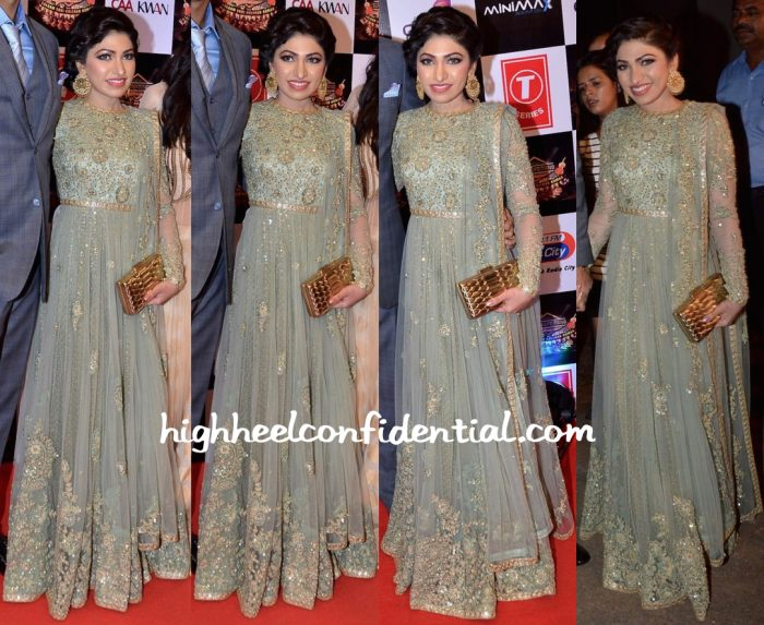 Tulsi Kumar In Sabyasachi At Gulshan Kumar Tribute