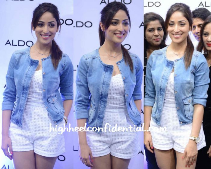 Yami Gautam In Guess And Promod At Aldo's Fall:Winter 2015 Collection Launch In Delhi-2