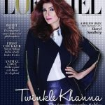 Twinkle on L'Officiel India: (Un)Covered