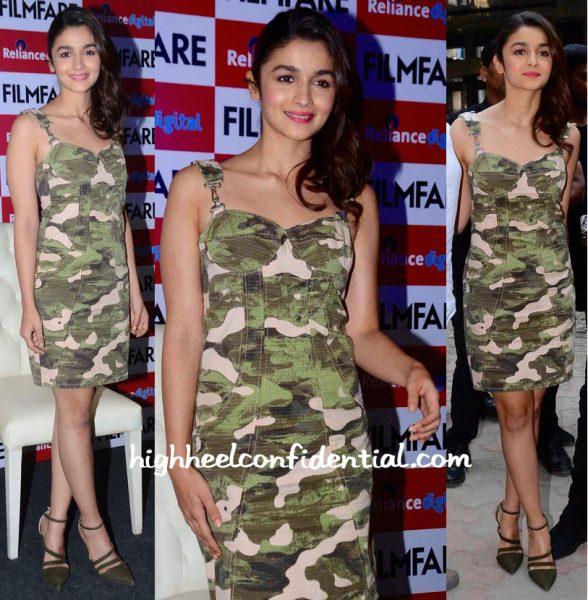 ALia Bhatt Wears Diesel To Filmfare Latest Issue Launch-2