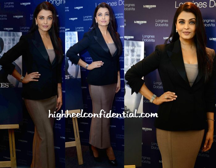 Aishwarya Rai Bachchan In House Of CB And Tom Ford At Longines Store Launch And Jazbaa Promotions-2