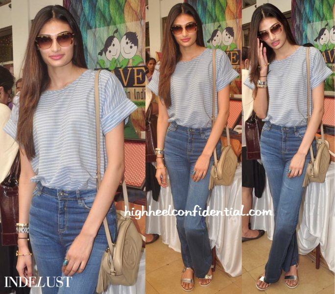 Athiya Shetty In Shift By Nimish Shah And Gucci At Araish 2015-2