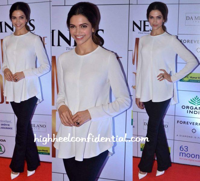 Deepika Padukone At Outlook Business Women Of The Year Awards-2