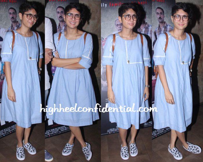 Kiran Rao In Bodice At Titli Screening