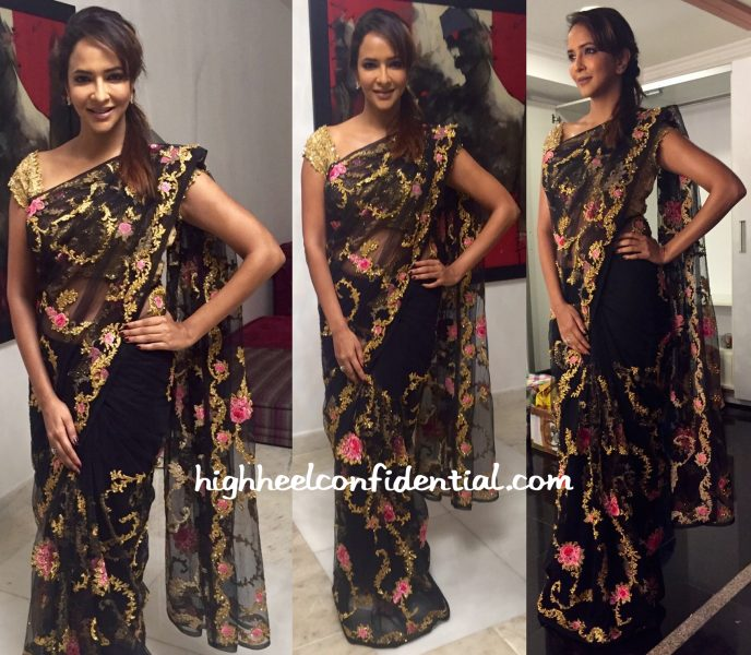 Lakshmi Manchu In Pallavi Jaikishan At  'Lacchimdeviki O Lekkundi' Audio Launch-1