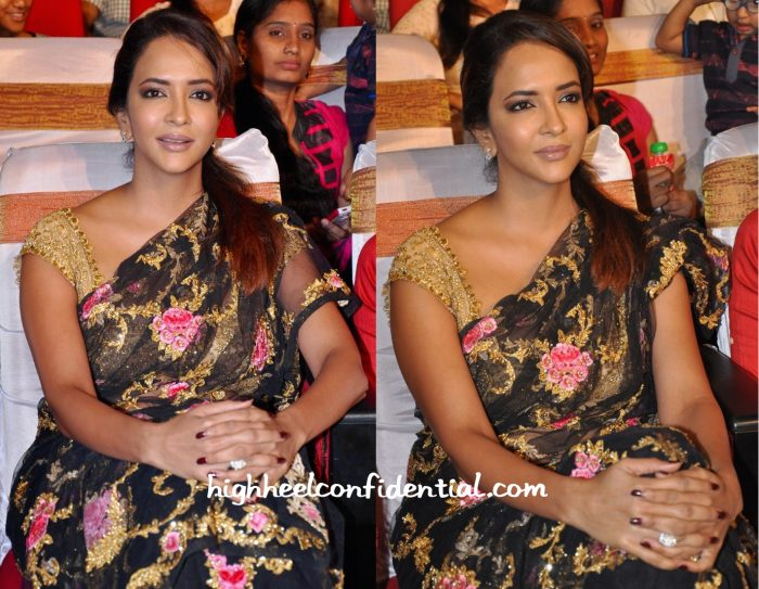 Lakshmi Manchu In Pallavi Jaikishan At  'Lacchimdeviki O Lekkundi' Audio Launch-2