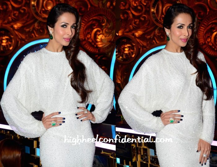 Malaika Arora Khan In Elio Abou Fayssal Couture On Jhalak Dikhhla Jaa Sets-2