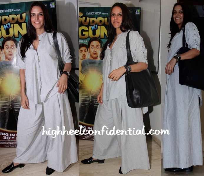 Neha Dhupia At Guddu Ki Gun Screening