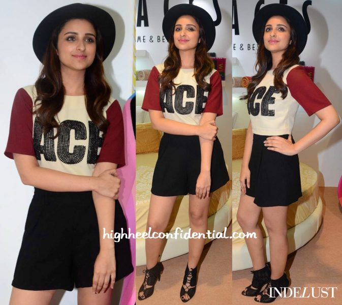Parineeti Chopra In Kanika Goyal At Amazon India Fashion Week-2