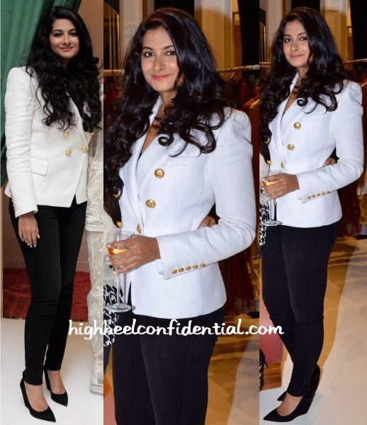 Rhea Kapoor In Balmain At Le Mill Colaba Store Launch