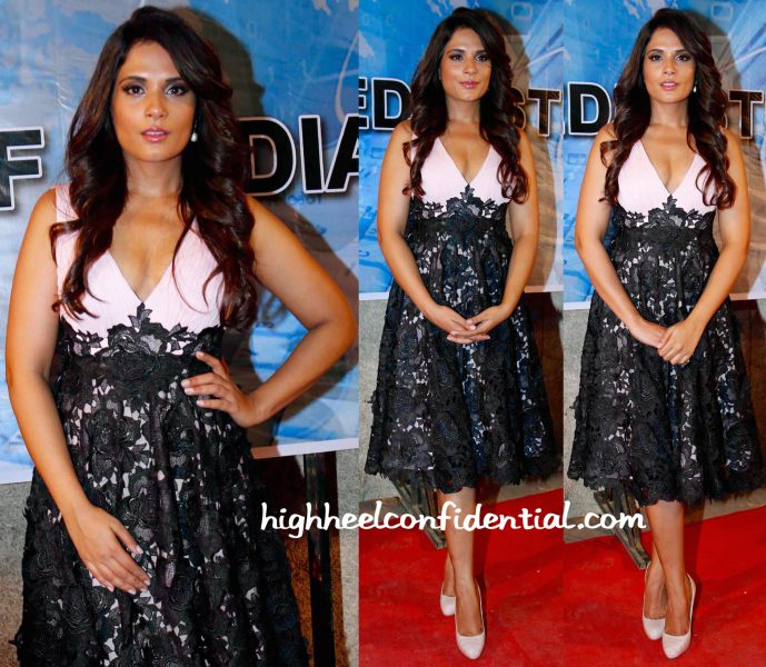 Richa Chadha In Meher And Ridhima At Main Aur Charles Promotions-1