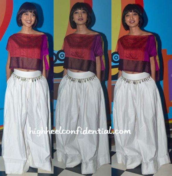 Sayani Gupta margarita with a straw dvd launch payal khandwala