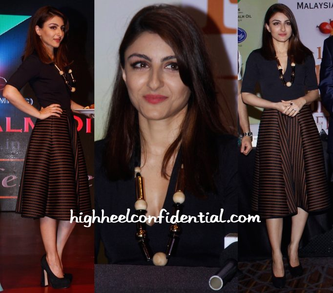 Soha Ali Khan In H&M At Malaysian Palm Oil Event-2