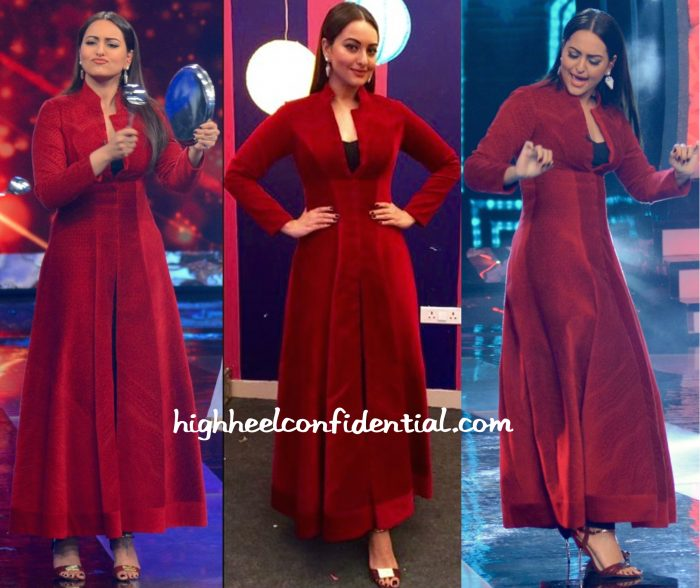 Sonakshi Sinha In Shantanu And Nikhil At Aaj Ki Raat Hai Zindagi Filming