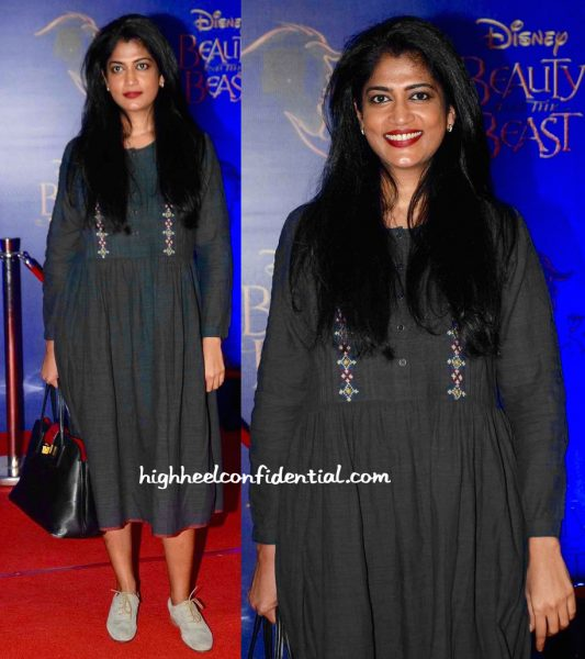 Swati Shetty In Vrisa At Beauty And The Beast Musical