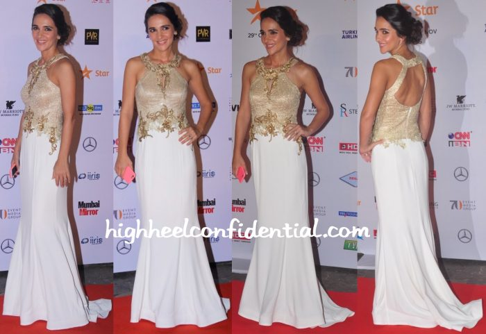 Tara Sharma Saluja In Archana Kochhar At MAMI 2015 Film Festival Opening Night
