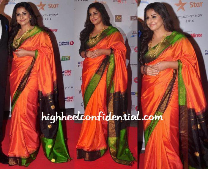 Vidya Balan At MAMI 2015 Opening Night