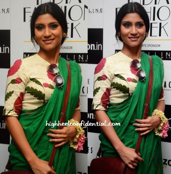 konkona sen sharma In Raw Mango At Sanjay Garg Show At AMazon India Fashion Week-2