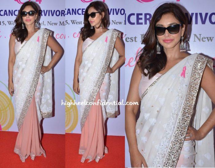 lisa-ray-manish-malhotra-breast-cancer-conference