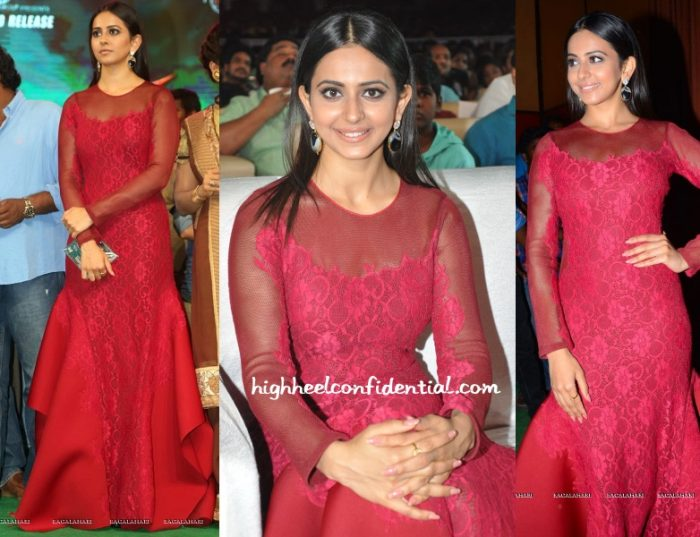 rakul-preet-tanieya-khanuja-bruce-lee-audio-launch