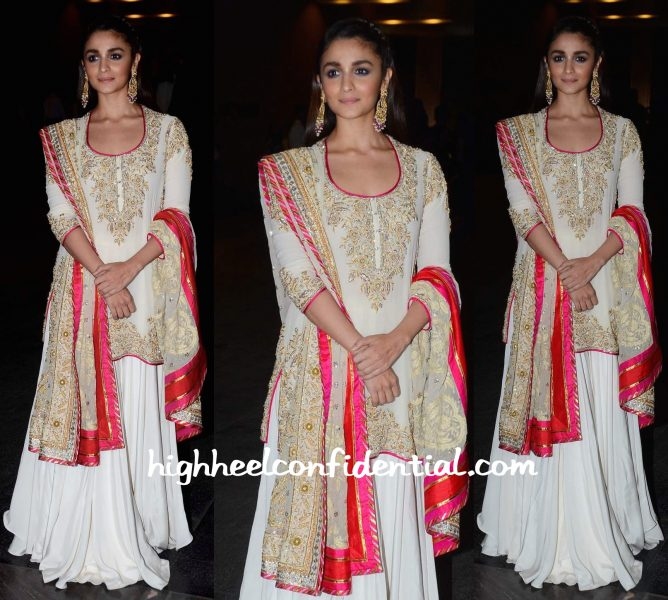 Alia Bhatt In Abu Jani Sandeep Khosla At Masaba Gupta And Madhu Mantena's Wedding Reception-1