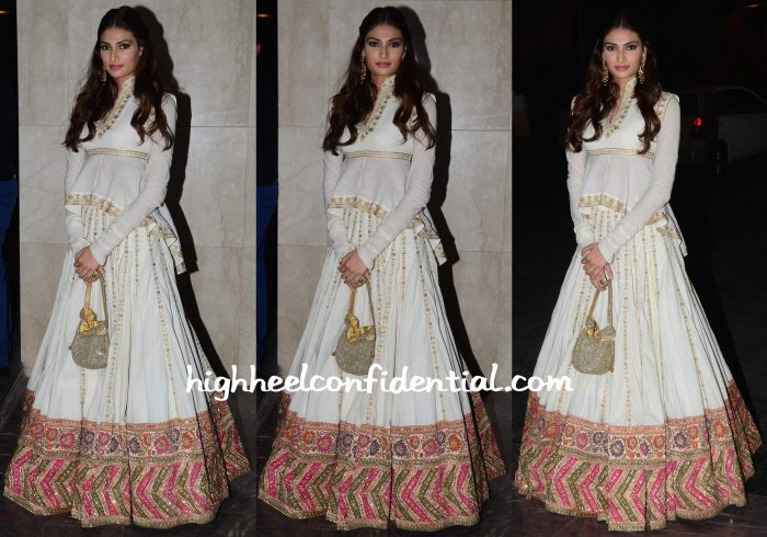 Athiya Shetty At Masaba Gupta-Madhu Mantena Wedding Reception-1