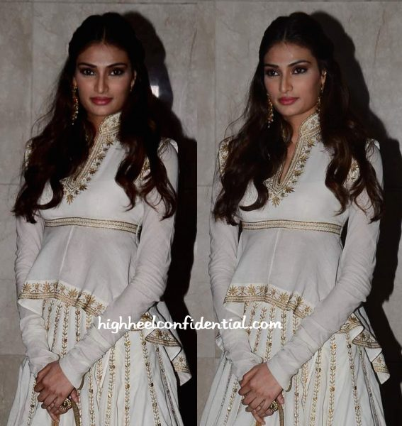 Athiya Shetty At Masaba Gupta-Madhu Mantena Wedding Reception-2