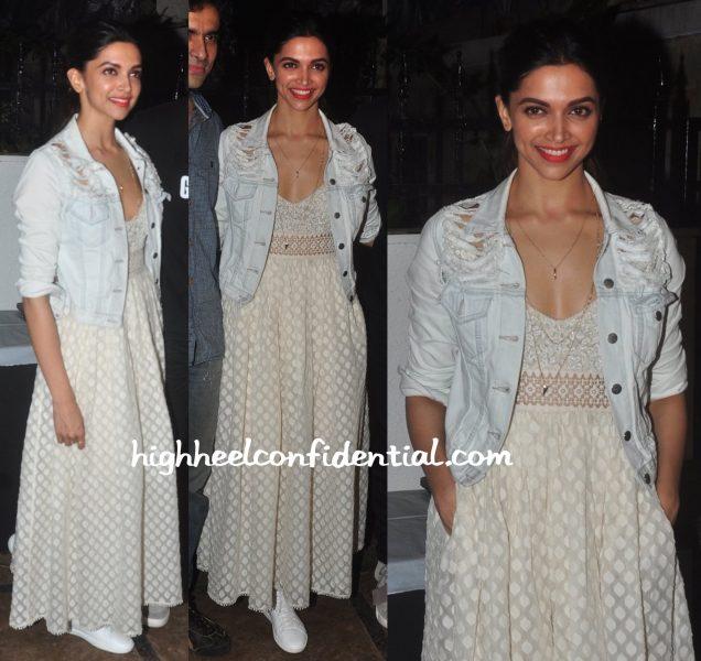 Deepika Padukone At Tamasha Promotions-2