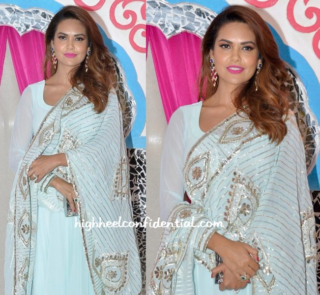 Esha Gupta At Sachin Joshi Diwali Party-2