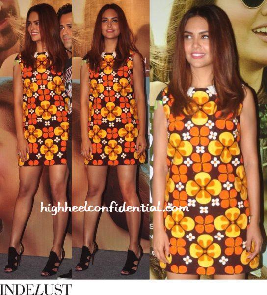 Esha Gupta Wears Hemant Nandita To 'Main Rahoon Ya Na Rahoon' Launch-2