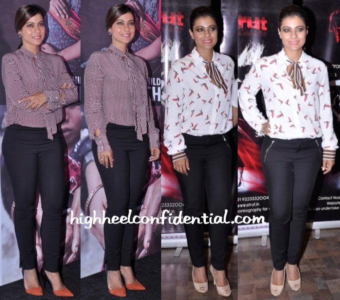Kajol In Zara At Lifebuoy Event-1