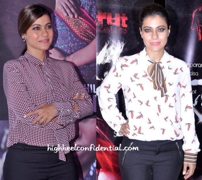 Kajol In Zara At Lifebuoy Event-2
