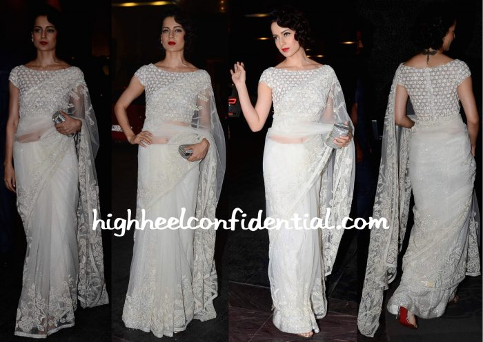 Kangana Ranaut At Masaba Gupta-Madhu Mantena Wedding Reception-1