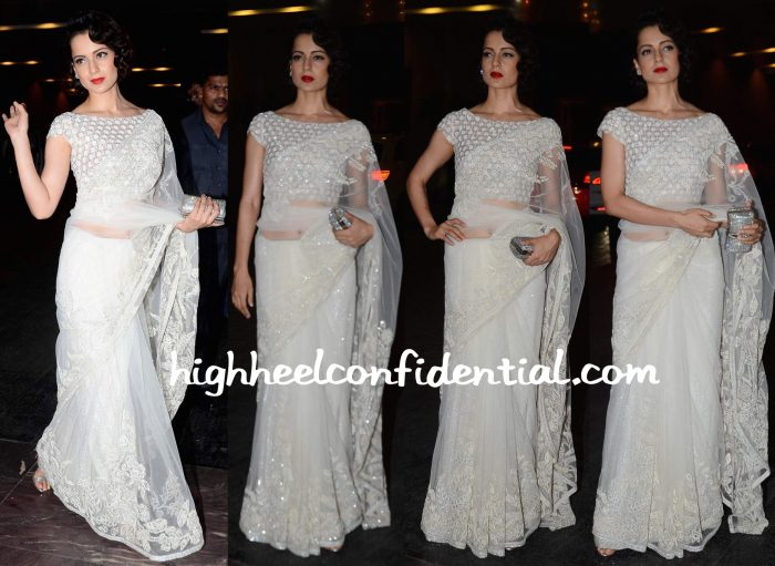 Kangana Ranaut At Masaba Gupta-Madhu Mantena Wedding Reception-2