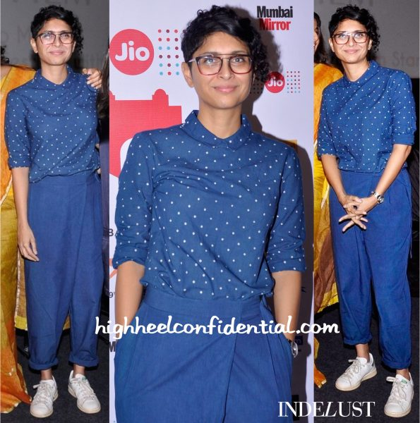 Kiran Rao In Bodice At MAMI 2015 Film Festival