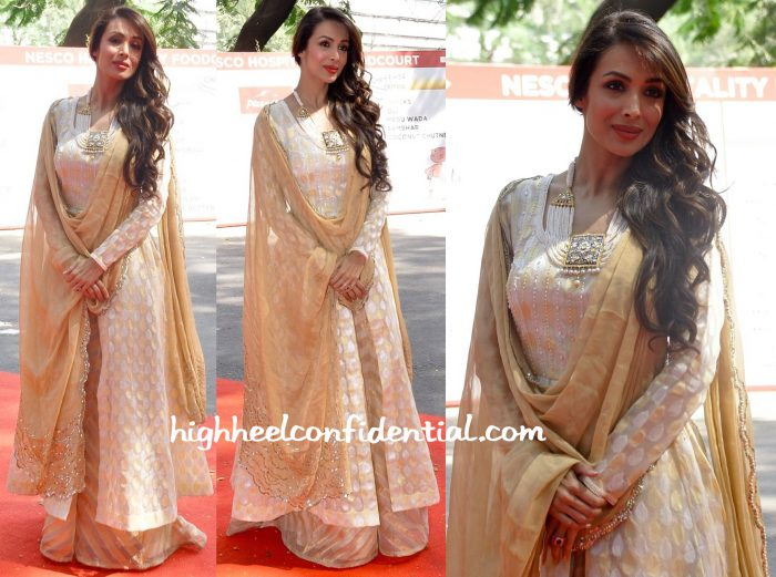 Malaika Arora Khan In Kotwara At Dubai Property Expo-2