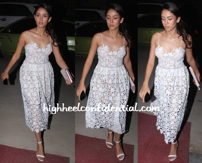 Mira Rajput Wears Self Portrait To Masaba's Bridal Shower-1